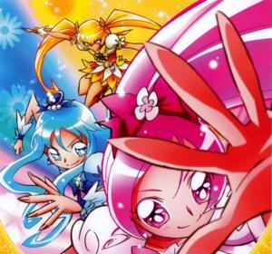 Rating: Safe Score: 4 Tags: hanasaki_tsubomi heartcatch_pretty_cure! kurumi_erika myoudouin_itsuki pretty_cure User: Onpu