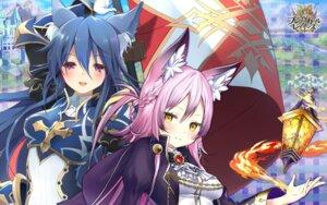 Rating: Safe Score: 20 Tags: animal_ears armor brave_girl_ravens tsukimiya_sei wallpaper yoshino_ryou User: zyll