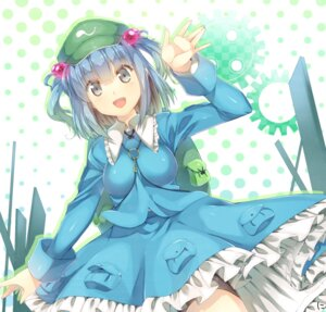 Rating: Safe Score: 21 Tags: kawashiro_nitori niwashi touhou User: mahoru