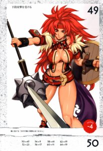 Rating: Safe Score: 8 Tags: cleavage eiwa queen's_blade risty User: YamatoBomber