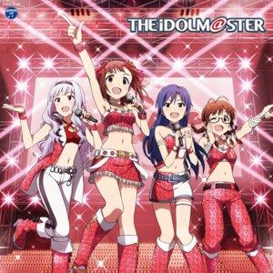 Rating: Safe Score: 25 Tags: akizuki_ritsuko amami_haruka disc_cover garter heels kisaragi_chihaya megane shijou_takane the_idolm@ster User: saemonnokami