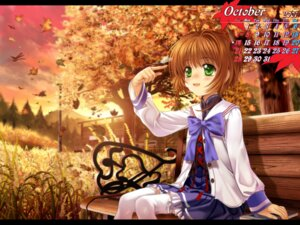 Rating: Safe Score: 16 Tags: calendar card_captor_sakura kinomoto_sakura moonknives thighhighs User: MugiMugi