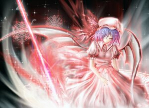 Rating: Safe Score: 16 Tags: remilia_scarlet saber_01 touhou wings User: charunetra