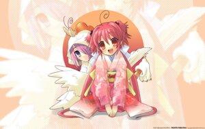 Rating: Safe Score: 8 Tags: akizuki_nagi ito_noizi kimono momose_hikaru peace@pieces unisonshift wallpaper User: yumichi-sama