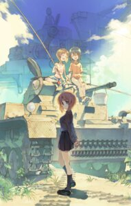 Rating: Safe Score: 14 Tags: girls_und_panzer heels nishizumi_maho nishizumi_miho tagme uniform User: Mr_GT