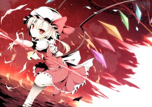 Rating: Safe Score: 44 Tags: flandre_scarlet pen-zin touhou wings User: tbchyu001