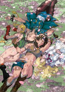 Rating: Safe Score: 19 Tags: ass bandaid cammy_white chinadress chun_li digital_version dress emilie_de_rochefort julia_chang leotard nishimura_kinu pantyhose street_fighter tekken torn_clothes User: Radioactive