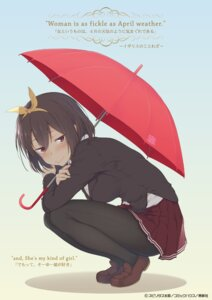 Rating: Safe Score: 31 Tags: pantyhose seifuku shinrutyu supiritas_tarou umbrella User: saemonnokami
