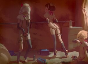 Rating: Explicit Score: 9 Tags: 1=2 ass garter naked_cape penis thighhighs trap User: BD_Love