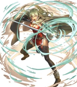 Rating: Questionable Score: 5 Tags: chinadress cleavage cuboon fire_emblem fire_emblem:_rekka_no_ken fire_emblem_heroes heels igrene nintendo thighhighs weapon User: fly24