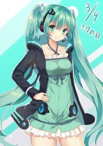 Rating: Safe Score: 20 Tags: dress hatsune_miku headphones hopepe vocaloid User: charunetra