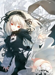 Rating: Safe Score: 38 Tags: gothic_lolita lolita_fashion nilitsu rozen_maiden suigintou User: charunetra