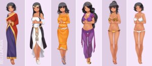 Rating: Questionable Score: 11 Tags: asian_clothes beli_lapran bikini bra character_design cleavage feet heels hunie_pop ninamo pantsu swimsuits User: Teddyzipper