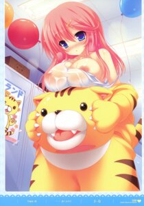 Rating: Questionable Score: 80 Tags: 2-g breasts nipple_slip nipples see_through swimsuits wet_clothes User: fireattack