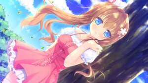 Rating: Safe Score: 62 Tags: alcot dress game_cg loverec narumi_yuu thighhighs yoshinaga_chiho User: donicila
