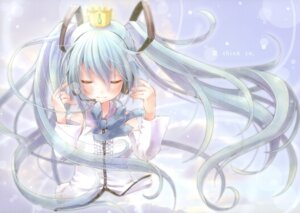 Rating: Safe Score: 36 Tags: dress fixme gap hatsune_miku headphones meltdown_comet vocaloid yukiu_con User: midzki