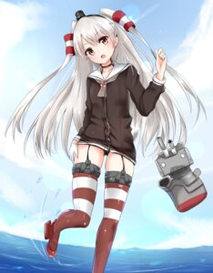 Rating: Safe Score: 52 Tags: amatsukaze_(kancolle) kantai_collection naigou pantsu stockings thighhighs User: JCorange