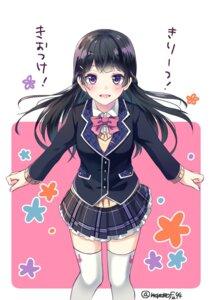 Rating: Safe Score: 40 Tags: mononofu44 nijisanji seifuku thighhighs tsukino_mito User: hiroimo2