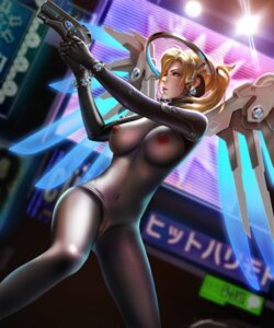 Rating: Explicit Score: 71 Tags: bodysuit cosplay gantz gun liang_xing mercy_(overwatch) nipples no_bra nopan overwatch pussy see_through shimohira_reika uncensored wings User: mash