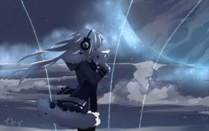 Rating: Safe Score: 36 Tags: headphones mizushirazu wallpaper User: Gurrisch