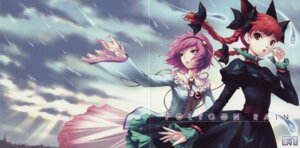Rating: Safe Score: 10 Tags: crease fixme kaenbyou_rin komeiji_satori touhou User: reiserFS