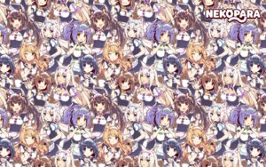 Rating: Safe Score: 33 Tags: animal_ears azuki chocola cinnamon_(nekopara) cleavage coconut heterochromia maid maple_(nekopara) minazuki_shigure nekomimi nekopara sayori vanilla wallpaper User: fairyren