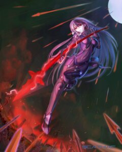Rating: Safe Score: 44 Tags: bodysuit fate/grand_order heels scathach_(fate/grand_order) ushas weapon User: Mr_GT