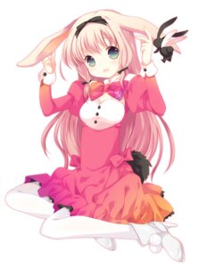 Rating: Safe Score: 48 Tags: animal_ears bunny_ears heels pantyhose tail tokumi_yuiko User: 椎名深夏