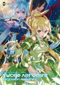 Rating: Questionable Score: 20 Tags: abec armor cleavage kirito leafa sinon stockings sword sword_art_online sword_art_online_alicization tagme thighhighs weapon User: kiyoe