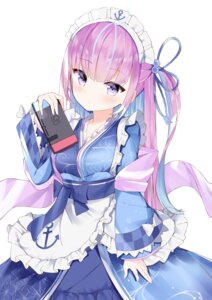 Rating: Safe Score: 43 Tags: fuyuki030 hololive maid minato_aqua wa_maid User: Mr_GT