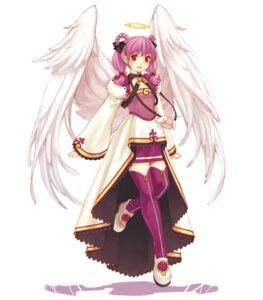 Rating: Safe Score: 13 Tags: angel ciel_(spectral_souls) dress hirano_katsuyuki idea_factory spectral_souls spectral_souls_ii thighhighs wings User: Radioactive