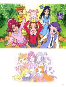 Rating: Questionable Score: 4 Tags: dokidoki!_precure dress pretty_cure sketch thighhighs User: drop