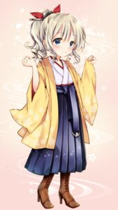 Rating: Safe Score: 18 Tags: hatakaze_(kancolle) heels japanese_clothes kantai_collection maya_(tirolpop) User: sym455