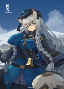 Rating: Safe Score: 18 Tags: animal_ears arknights nekomimi pramanix_(arknights) sima_naoteng tail uniform User: Dreista