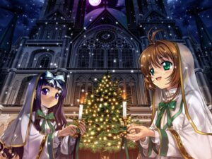 Rating: Safe Score: 15 Tags: card_captor_sakura daidouji_tomoyo kinomoto_sakura moonknives User: blooregardo