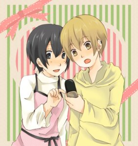Rating: Safe Score: 1 Tags: durarara!! kida_masaomi me_(mm221) mikajima_saki User: Radioactive