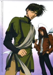 Rating: Safe Score: 3 Tags: calendar cho_hakkai male saiyuki_reload sha_gojou smoking User: jusuchin85