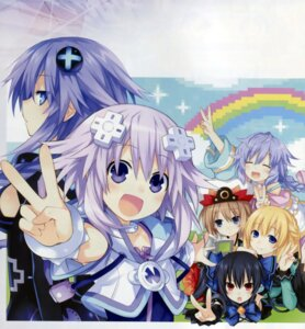 Rating: Safe Score: 50 Tags: blanc choujigen_game_neptune kami_jigen_game_neptune_v neptune noire purple_heart pururut tsunako vert User: Radioactive