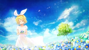 Rating: Safe Score: 39 Tags: dress fuyuno_yuuki kagamine_rin landscape vocaloid User: nphuongsun93