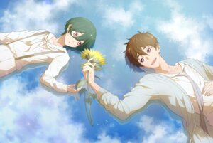 Rating: Safe Score: 3 Tags: free! high_speed! kirishima_ikuya kirishima_natsuya male runano User: kunkakun