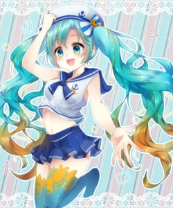 Rating: Safe Score: 38 Tags: amane_tari hatsune_miku thighhighs vocaloid User: Mr_GT