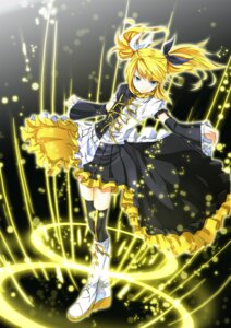Rating: Safe Score: 32 Tags: kagamine_rin meltdown_(vocaloid) mtu thighhighs vocaloid User: hobbito