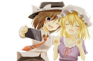 Rating: Safe Score: 9 Tags: indo_(mdtanaka2007) maribel_han touhou usami_renko User: Minacle