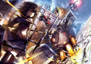 Rating: Safe Score: 20 Tags: gun landscape mecha sword uu_uu_zan weapon User: zero|fade