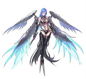Rating: Safe Score: 23 Tags: bikini_armor punishing:_gray_raven see_through sword tattoo thighhighs tsuki_no_i-min wings User: Dreista