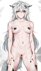 Rating: Questionable Score: 10 Tags: animal_ears arknights erect_nipples lappland_(arknights) naked pussy rosaline tail User: Genex