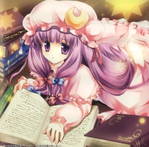 Rating: Safe Score: 16 Tags: mineko patchouli_knowledge touhou User: yumichi-sama