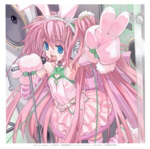 Rating: Safe Score: 9 Tags: animal_ears bunny_ears dress kuusou_tokeishi thighhighs User: fireattack