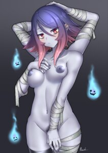 Rating: Explicit Score: 19 Tags: bandages monster_girl naked nipples paravene pubic_hair thighhighs User: Mr_GT