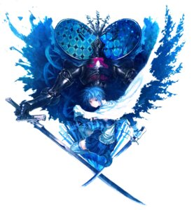 Rating: Safe Score: 19 Tags: lain miki_sayaka oktavia_von_seckendorff_(puella_magi_madoka_magica) puella_magi_madoka_magica sword User: animeprincess